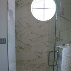 Transitional Bathroom by Traditions in Tile