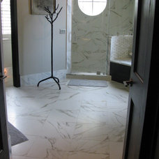 Modern Bathroom by Traditions in Tile