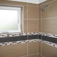 Contemporary Bathroom by elite construction designs