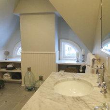 Traditional Bathroom by Richmond Hill Interiors, llc
