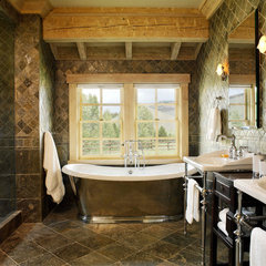 traditional bathroom by RMT Architects