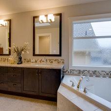 Traditional Bathroom by MERIT HOMES