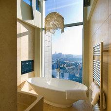 Contemporary Bathroom by 4 Step Designs