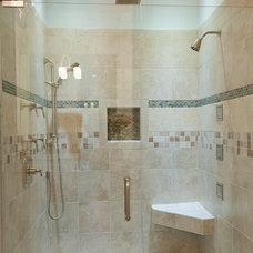 Contemporary Bathroom by Blue Sky Building Company