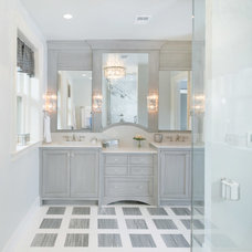 Transitional Bathroom by Kitchen Studio: Kansas City