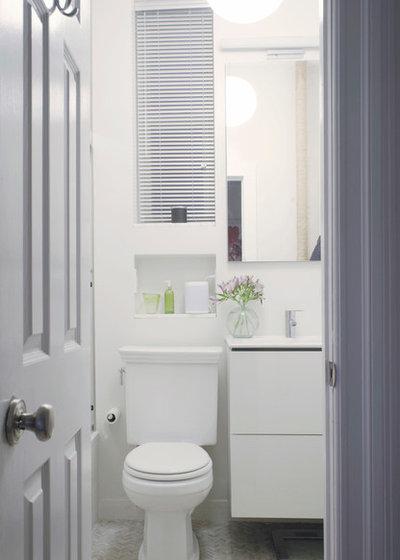 Contemporary Bathroom by Julia Mack Design, LLC
