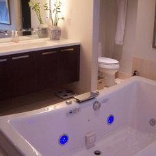 Modern Bathroom by Faust Construction