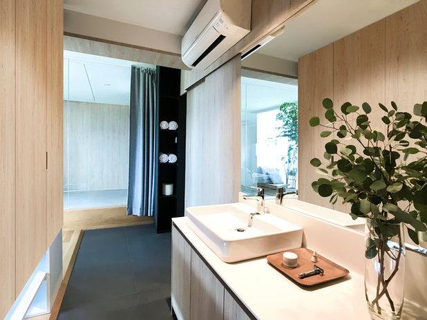 浴室 by nitton architects