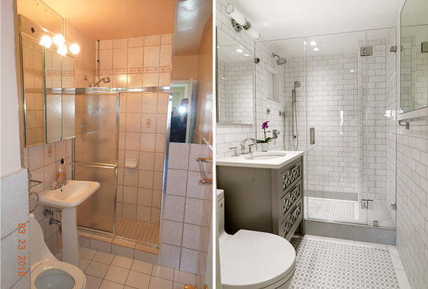 5 ways with an 8 by 5 foot bathroom - How much labor cost to remodel a bathroom ...