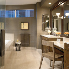 Contemporary Bathroom by Gary Lee Partners
