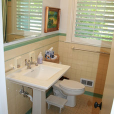 Craftsman Bathroom by Tongue & Groove