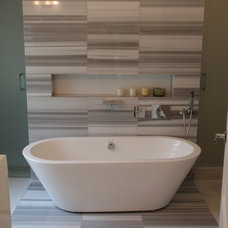 Modern Bathroom by Stol construction corp