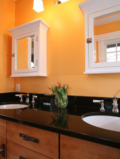 SaveEmail - Refacing Bathroom Cabinet Houzz