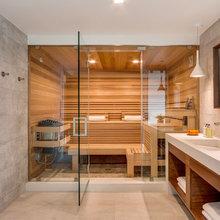 Sauna In New House