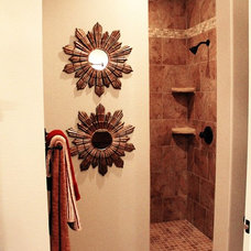 Traditional Bathroom by UpStaged Construction and Design