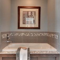 Craftsman Bathroom by Sustainable Nine Design + Build