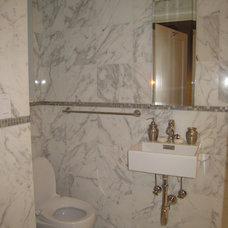 Traditional Bathroom by Caryn A. Rosen