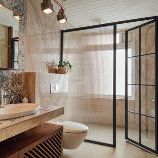 Idee per una stanza da bagno tropicale