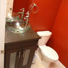 Contemporary Bathroom by Blue Brick Renovation + Construction, llc
