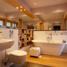 Contemporary Bathroom by Dalius & Greta Design