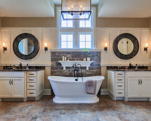 country bathroom design ideas renovations amp photos interiors a new take on country living shower doors