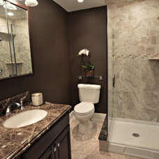 Contemporary Bathroom by Elite Staging and Redesign, LLC