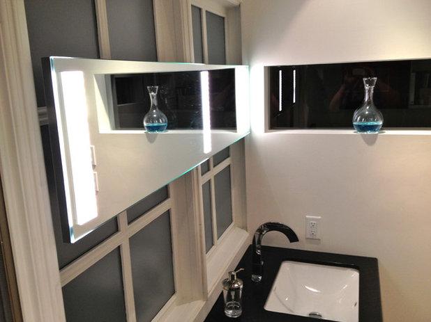 Modern Bathroom by By Any Design Ltd.