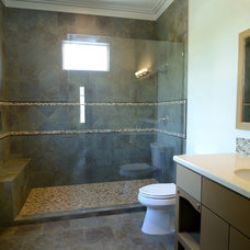 Transitional Bathroom by Southland Homes of Texas
