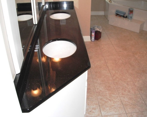 SaveEmail. 7-2-12 BLACK GALAXY Granite Colors for white Cabinets