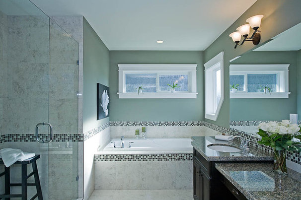 Traditional Bathroom by Clay Construction Inc.