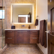 Contemporary Bathroom by Raptor Construction LLC.