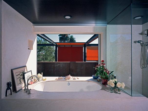 Modern Bathroom by Ehrlich Architects