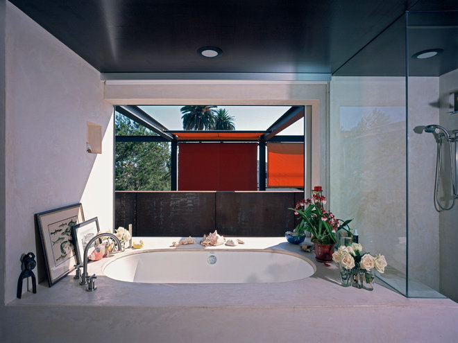 Modern Bathroom by Ehrlich Architects