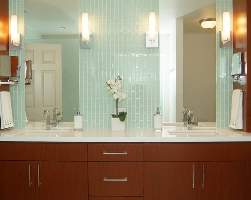 Horizontal Bathroom Sconces horizontal sconce | houzz