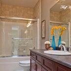 Dutchess Master Bathroom And Walk In Closet Traditional