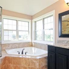 Traditional Bathroom by SKYCREST HOMES LLC