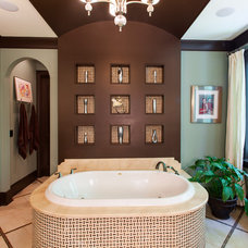 Traditional Bathroom by Artisan Custom Homes