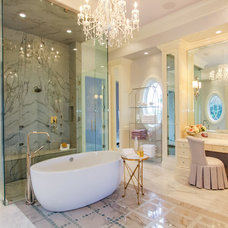 Mediterranean Bathroom by Claremont Companies