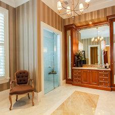 Mediterranean Bathroom by Claremont Companies
