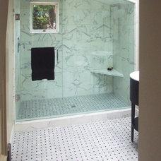 Mediterranean Bathroom by Winder Gibson Architects