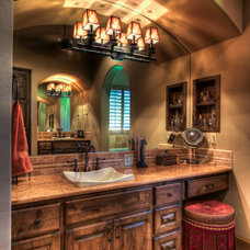 Mediterranean Bathroom by Jeff Watson Homes, Inc.