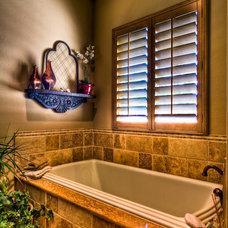 Mediterranean Bathroom by Jeff Watson Homes, Inc.