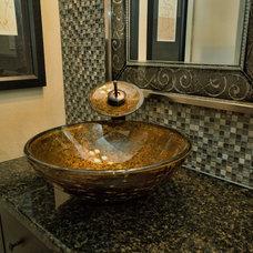 Contemporary Bathroom by Shai Homes