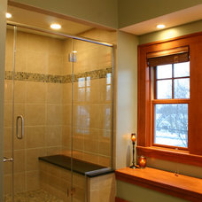 Traditional Bathroom by Highland Builders LLC