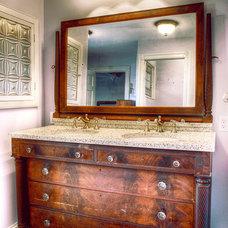 Eclectic Bathroom by Buckminster Green LLC