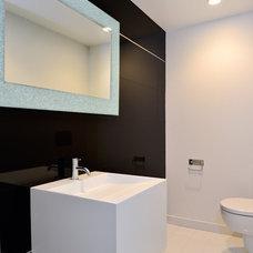 Modern Bathroom by Linc Thelen Design