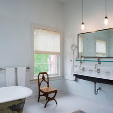 Transitional Bathroom by Linda Jaquez Architectural Photography