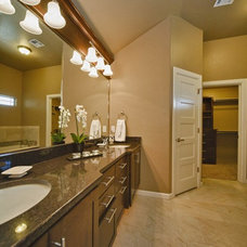 Traditional Bathroom by Two Structures Homes