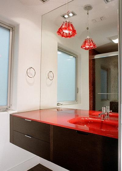 Perfect Contemporary Bathroom by Tatiana Takaeva
