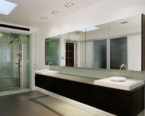 Broken Glass Backsplash Home Design Ideas, Pictures ...